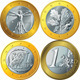 Gold Euro Coin Set - GraphicRiver Item for Sale