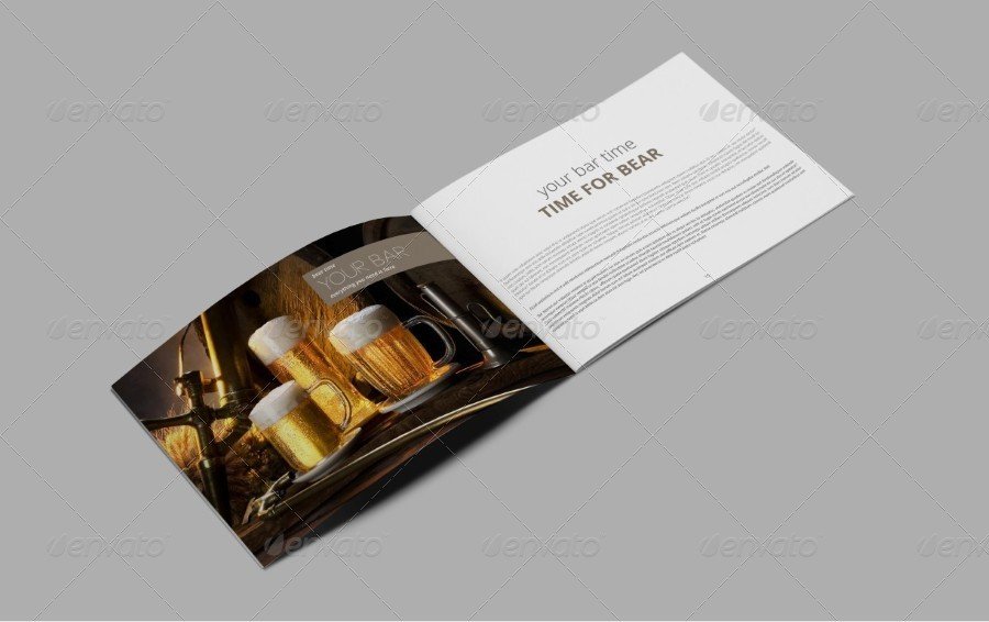 Caffe Bar Portfolio Brochure By Riverpixels_studio