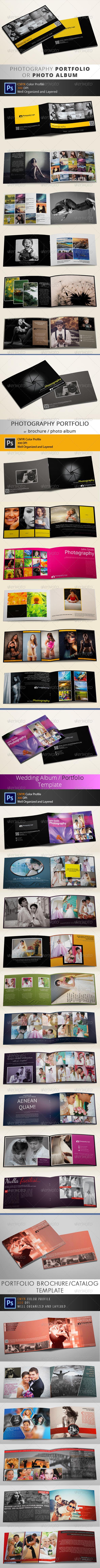 Photography Portfolio/Brochure Bundle - Portfolio Brochures