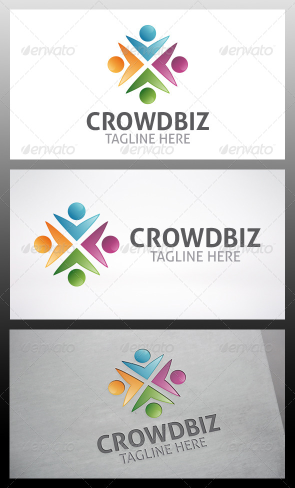Social Logo - Humans Logo Templates
