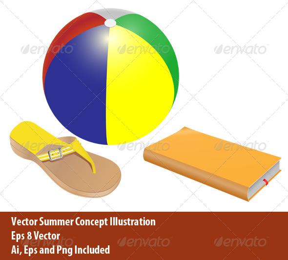 Summer Concept - Conceptual Vectors