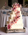 elaborate five tiered wedding cake - PhotoDune Item for Sale