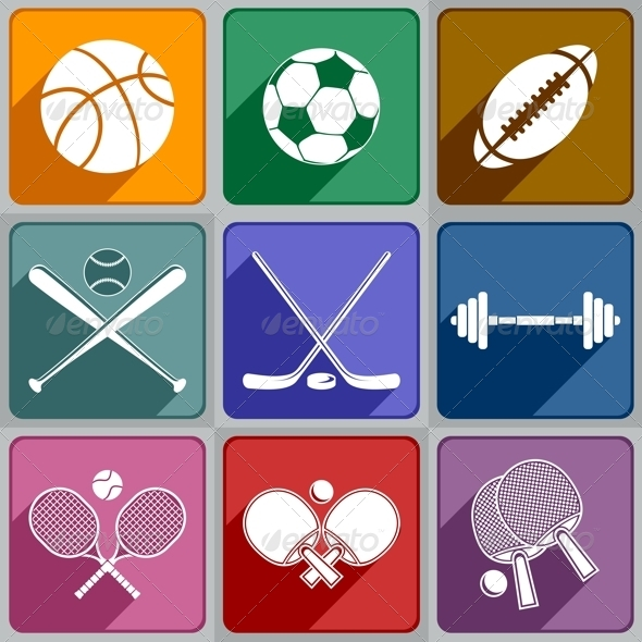 Sports Icons - Sports/Activity Conceptual