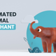 3D Animated Animal - Elephant