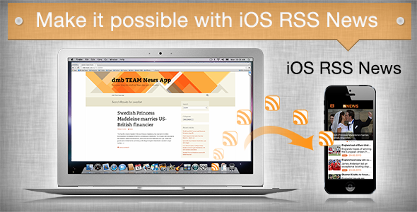 iOS RSS News - CodeCanyon Item for Sale