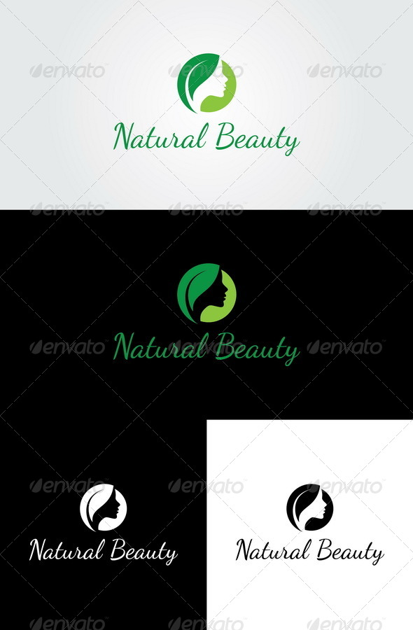 Natural Beauty Logo Templates - Nature Logo Templates