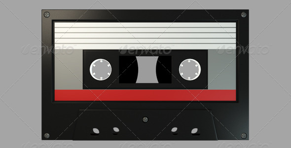 Cassette Tape - Objects Illustrations