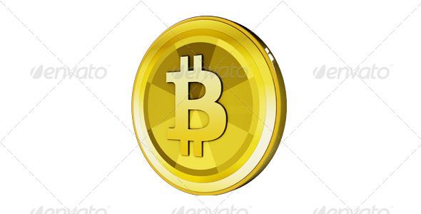 Bitcoin - 3D Renders Graphics