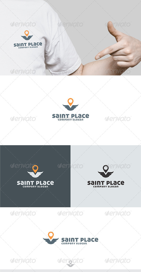 Saint Place Logo - Humans Logo Templates