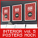 Posters Mock-Up vol.5 - GraphicRiver Item for Sale