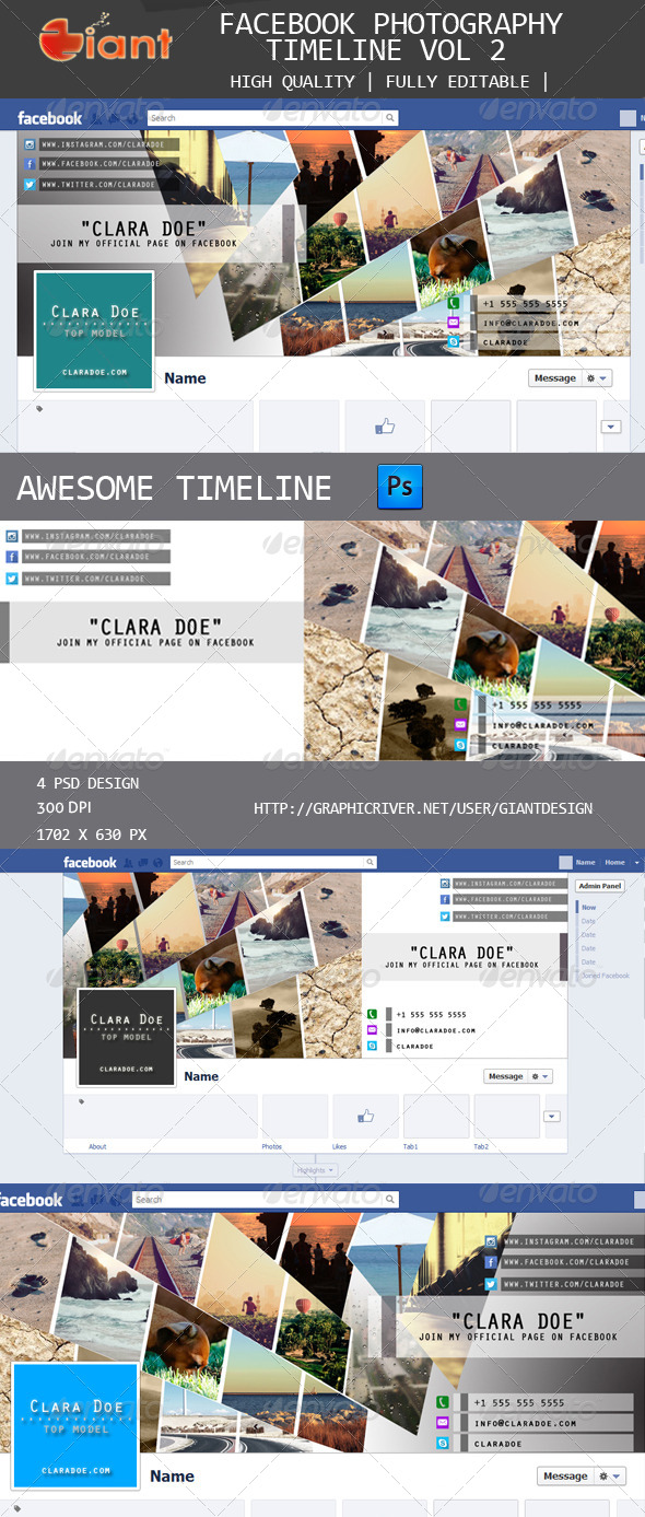 Fb Photography Timeline Vol 2