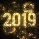 New Year 2019 Gold Background - VideoHive Item for Sale