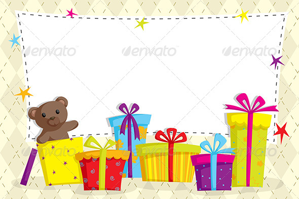 Gift Boxes - Decorative Vectors