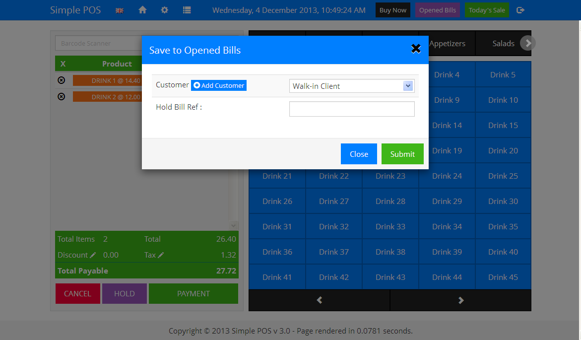 simple pos   point of sale made easy by tecdiary codecanyon