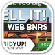 Bid Yup Online Shop Web Banners - GraphicRiver Item for Sale