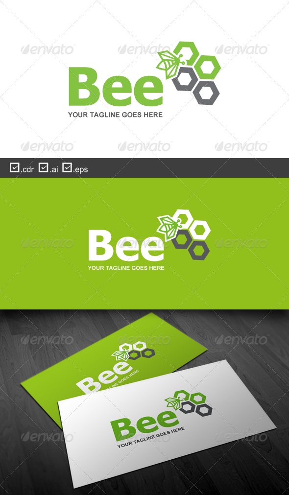Bee - Nature Logo Templates