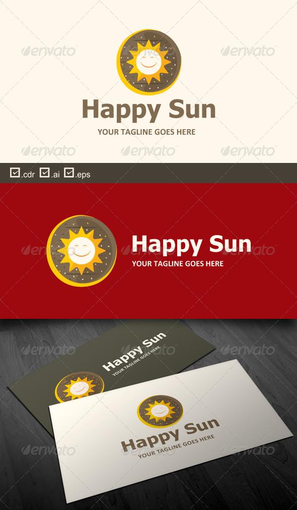 Happy Sun - Food Logo Templates