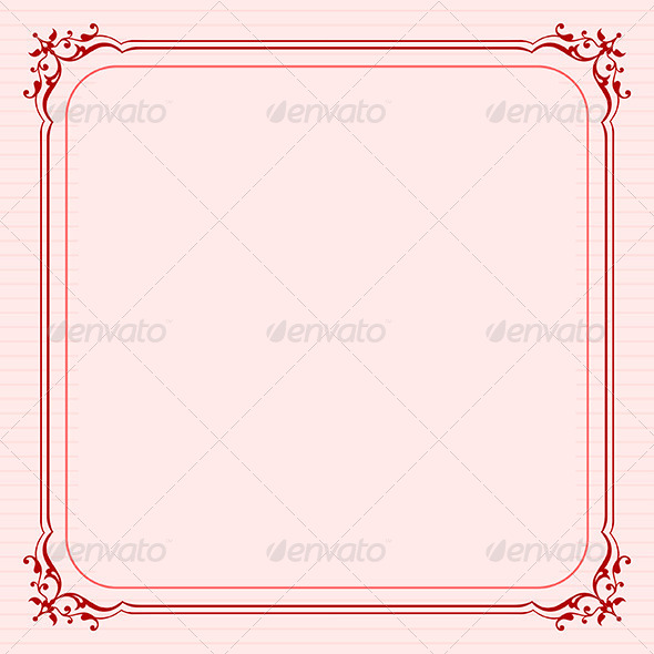 Elegant Frame - Patterns Decorative