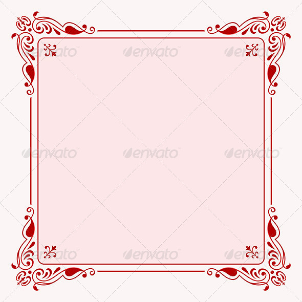 Elegant Frame - Patterns Decorative