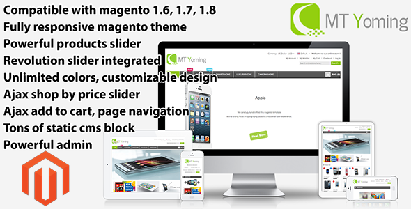 Yoming - Technology Responsive Magento Theme - Technology Magento