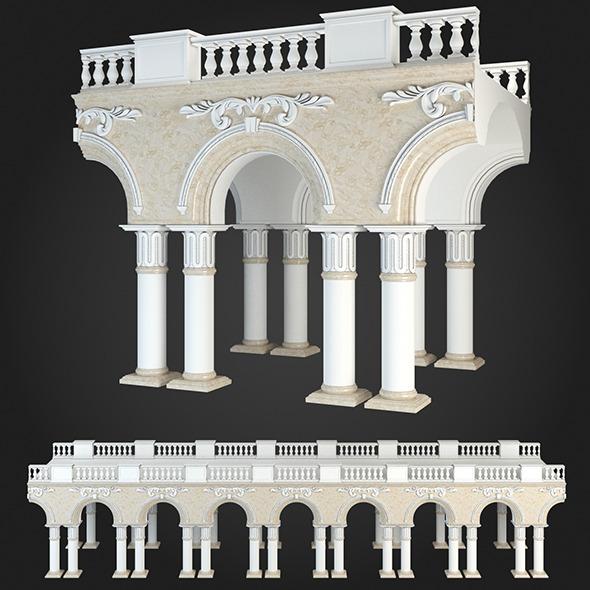 Arcade 002 - 3DOcean Item for Sale