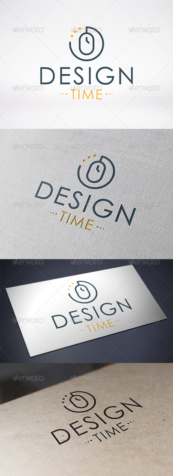 Design Time Logo Template - Objects Logo Templates