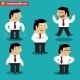 Office Emotions in Poses - GraphicRiver Item for Sale