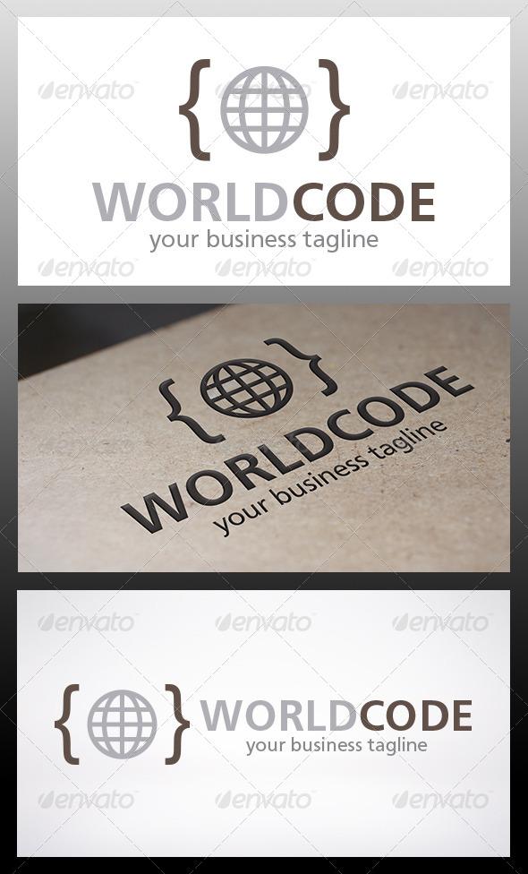 World Code Logo - Symbols Logo Templates