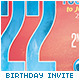 Birthday Party Invitation / Postcard - GraphicRiver Item for Sale