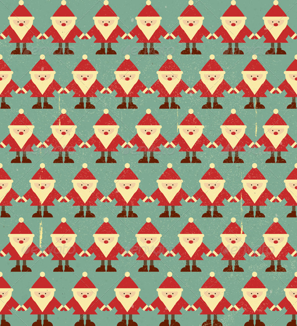 Christmas Seamless Background - Patterns Decorative
