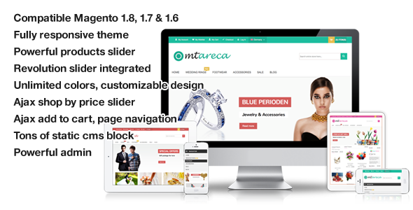 Areca – Multi-Purpose Responsive Magento Theme