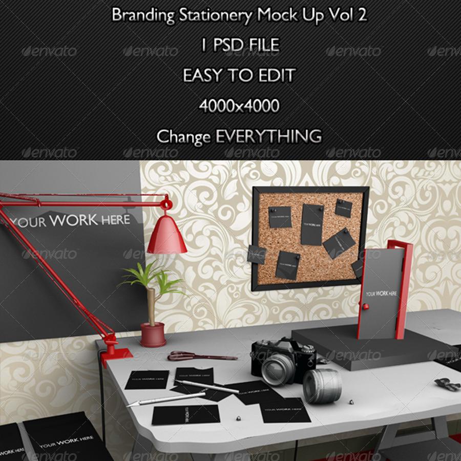 Branding Stationery Mock Up Vol 2