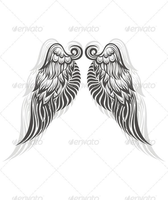 Wings  - Decorative Symbols Decorative