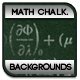 Math Formulas Chalkboard Backgrounds - GraphicRiver Item for Sale