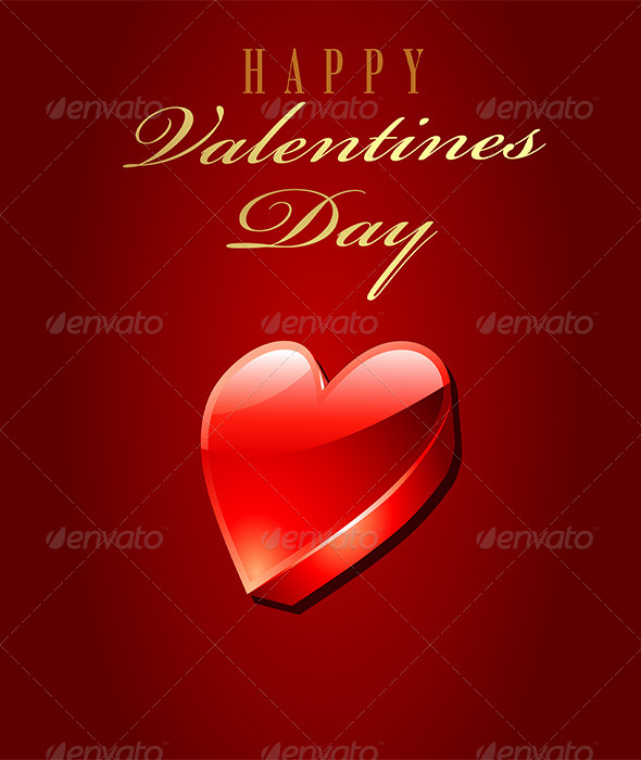 Happy Valentine Day Card - Valentines Seasons/Holidays