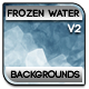 Frozen Water Ripples Background V.2