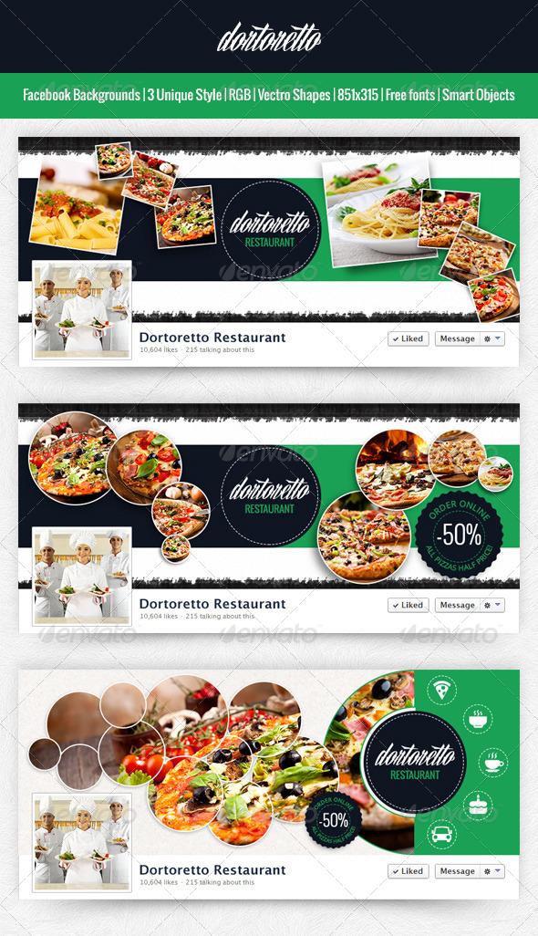 Dortoretto Facebook Background Circle v2 - Facebook Timeline Covers Social Media