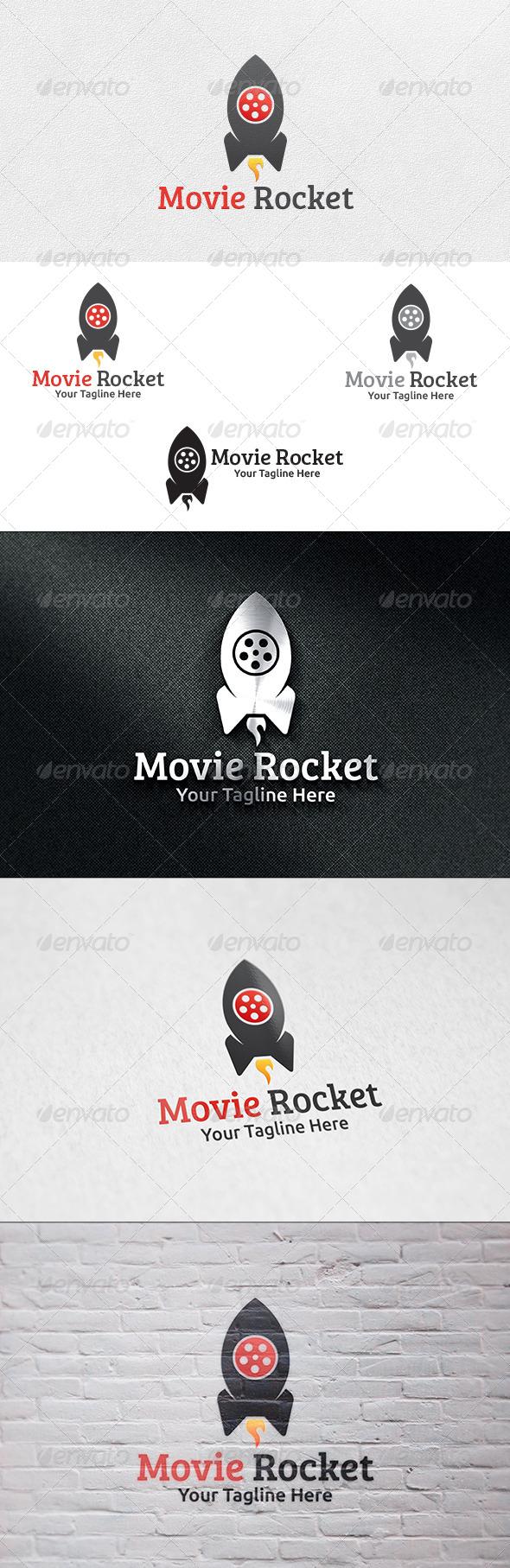 Movie Rocket - Logo Template - Symbols Logo Templates