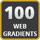 100 Web Gradients - GraphicRiver Item for Sale