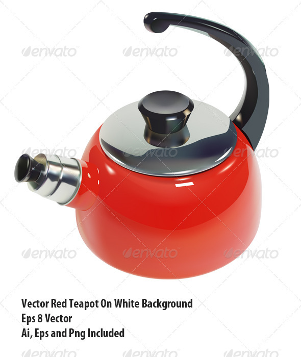 Teapot - Objects Vectors