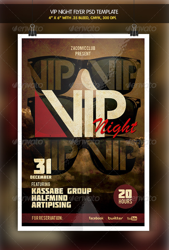 VIP Party Night - Clubs & Parties Events