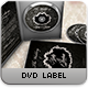 Classy Black Wedding Dvd Label - GraphicRiver Item for Sale