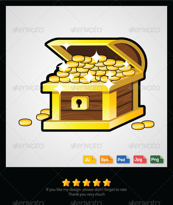 Treasure Chest - Miscellaneous Vectors