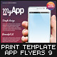 Mobile App Flyers 9 - GraphicRiver Item for Sale