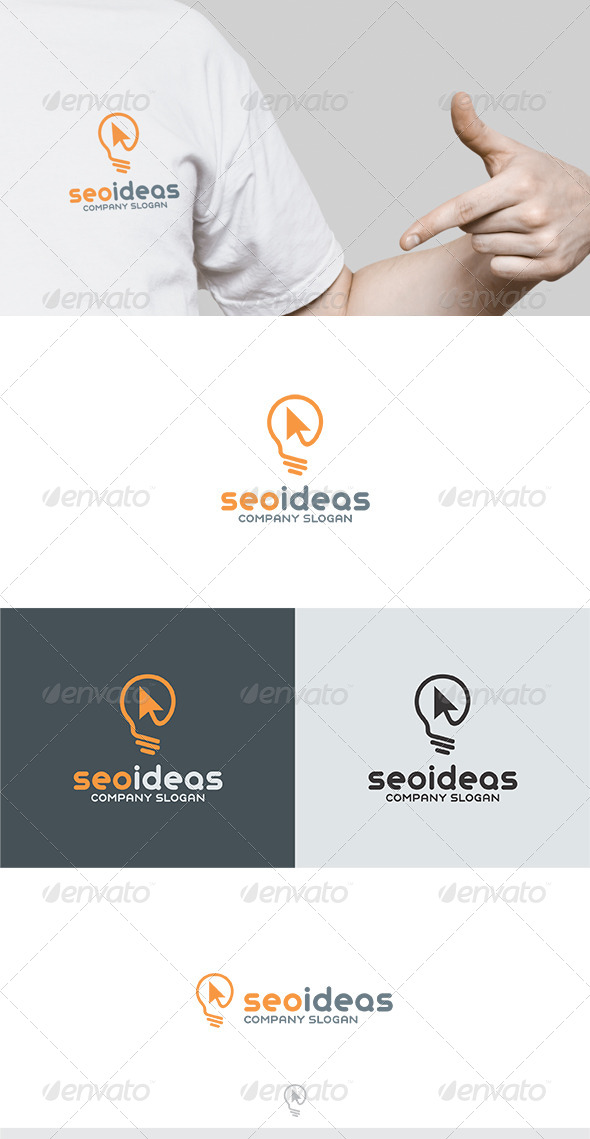 Seo Ideas Logo - Vector Abstract