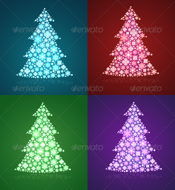 Christmas Trees  - Christmas Seasons/Holidays