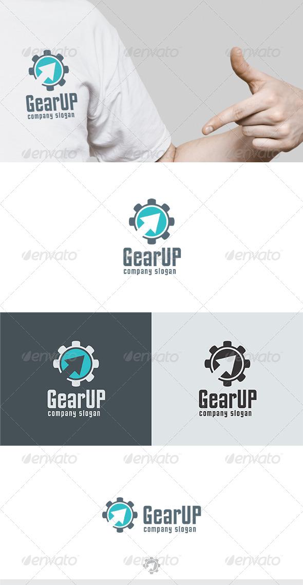 GearUP Logo - Symbols Logo Templates