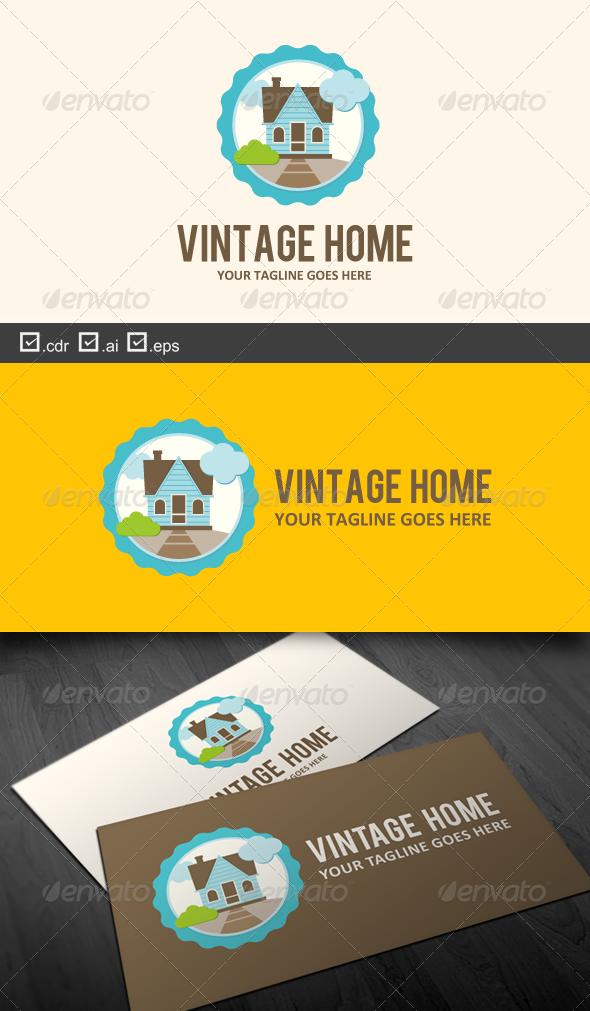 Vintage Home - Buildings Logo Templates