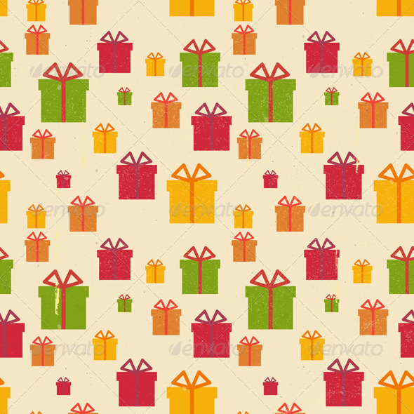 Gift Seamless Background - Patterns Decorative