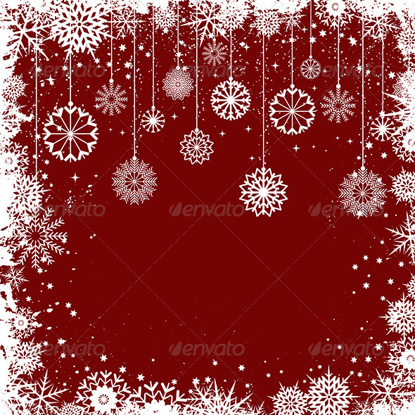 Christmas Snowflakes - Christmas Seasons/Holidays